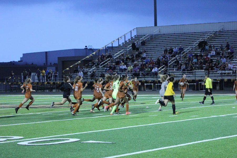 Varsity Girls' Soccer Named Area Champions in Double-Overtime Thriller