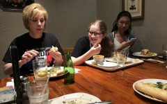 French Club Members Bond at la Madeleine