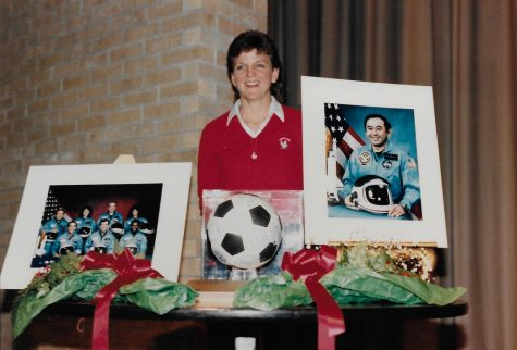 Ms. Woolsey's Soccer Ball Continues to Honor Challenger Crew