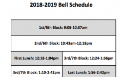 Principal Acosta Introduces New Bell Schedule and Administration Changes