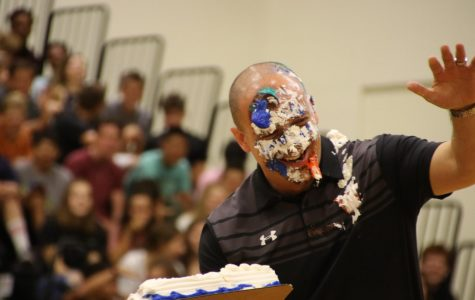 Students Attend First Pep Rally of Year