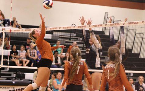 Varsity Volleyball Smashes Stony Point 3-0