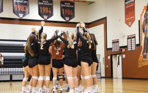 Varsity Volleyball Takes Down Mavericks 3-1