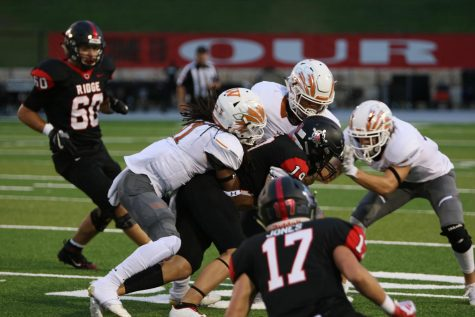 Varsity Football Bounces Back with Dominant 27-7 Win Over Vista Ridge