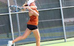 Varsity Tennis Ties Against Lake Travis