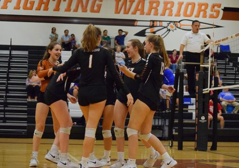 JV Orange Volleyball Tames Leander Lions 2-0