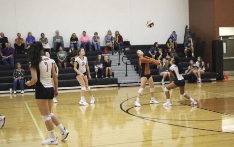 Freshman Volleyball Clips the Hendrickson Hawk's Wings 2-0