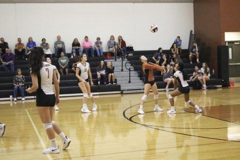 Freshman Volleyball Clips the Hendrickson Hawk's Wings 2-0