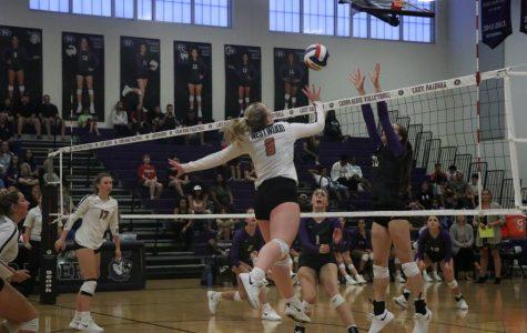 Varsity Volleyball Falls Short Against Cedar Ridge