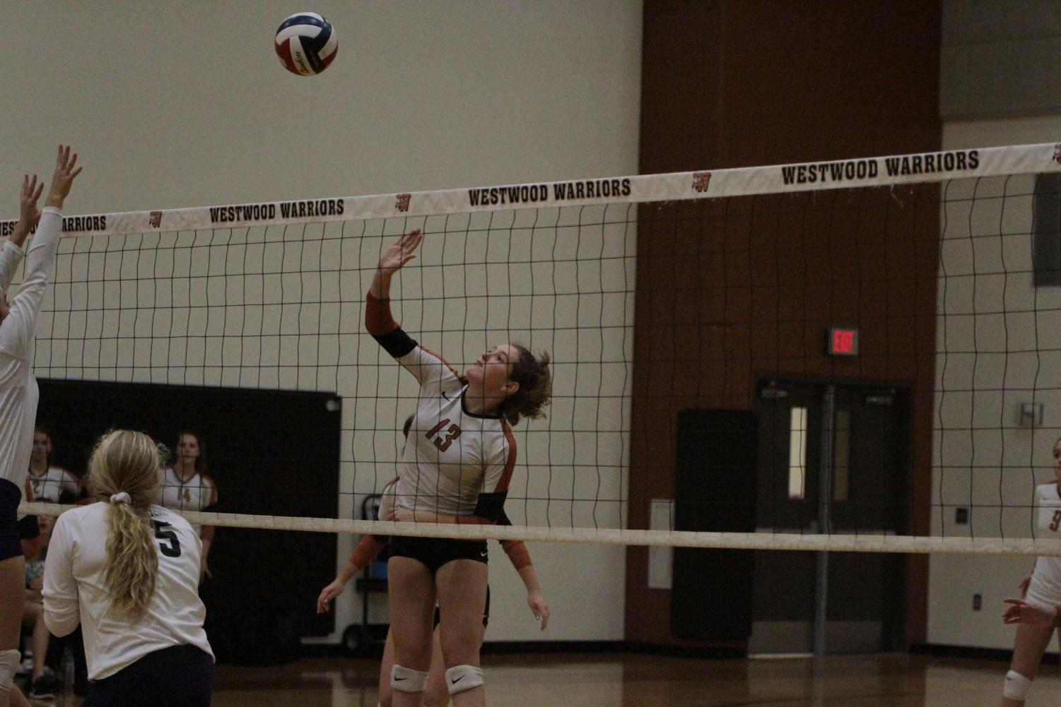 JV+White+Volleyball+Triumphs+over+McNeil+2-0