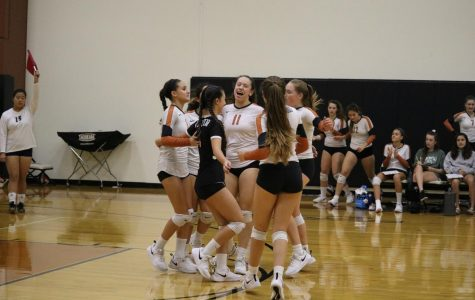 JV White Volleyball Triumphs over McNeil 2-0