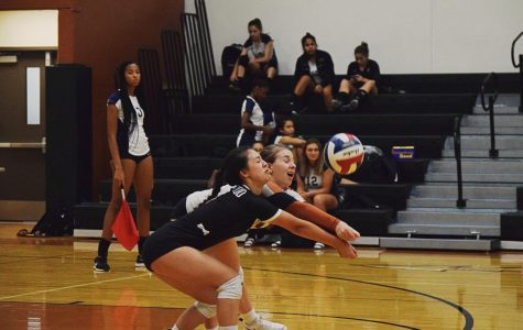 JV White Volleyball Triumphs Over Hendrickson 2-0