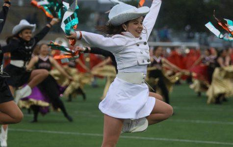 Students Perform at Homecoming Despite Rain