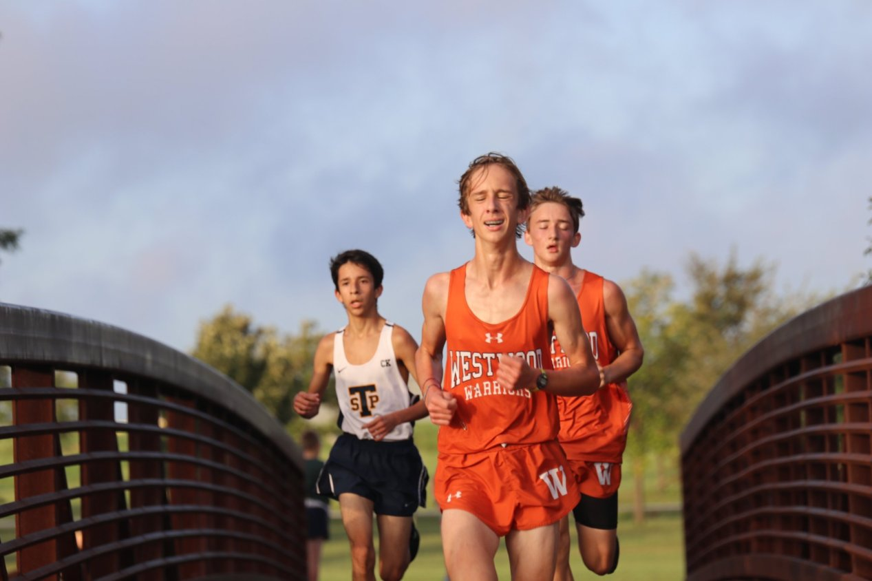 JV+Cross+Country+Prepares+For+District+Meet+In+Pre-District+Race