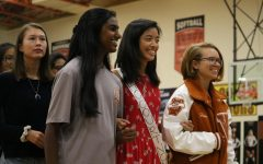 Students Rally School Spirit at Homecoming Pep Rally Despite Rain