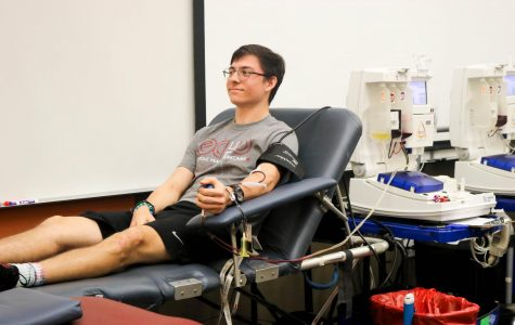 Students Participate in Campus Blood Drive