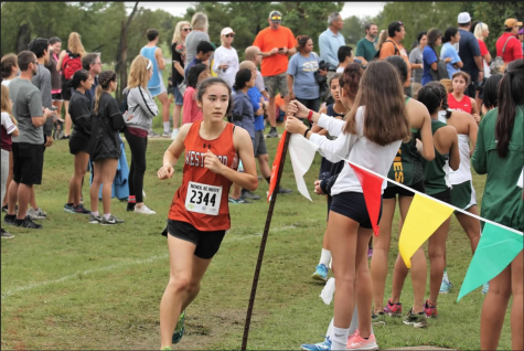 Varsity Cross Country Races at Statewide McNeil Invite