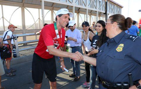 Beto O'Rourke Speaks Outside of Voting Stations Around Austin