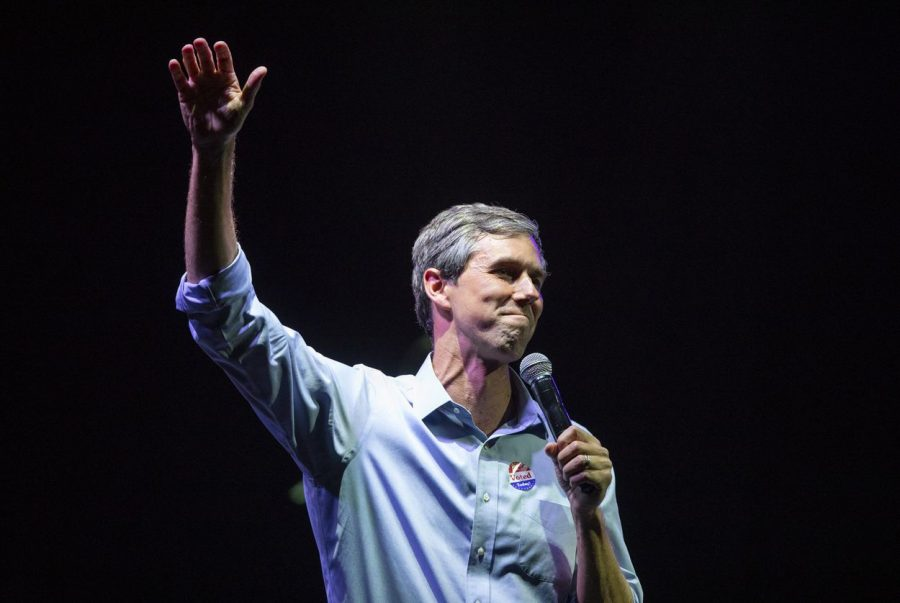 Beto+O%27Rourke+speaks+to+his+supporters+after+losing+to+Ted+Cruz+in+the+2018+midterm+elections%2C+in+El+Paso+on+Tuesday%2C+Nov.+6%2C+2018.
