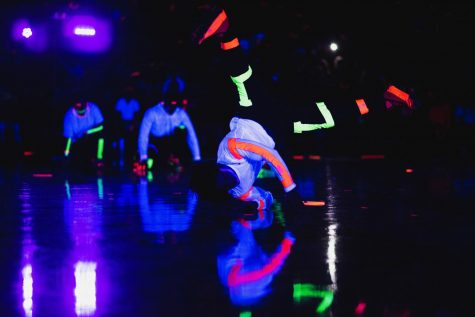 Students Attend Annual Blacklight Pep Rally