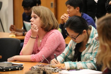 Armenian Visitors Discuss Educational Reform with IB Students