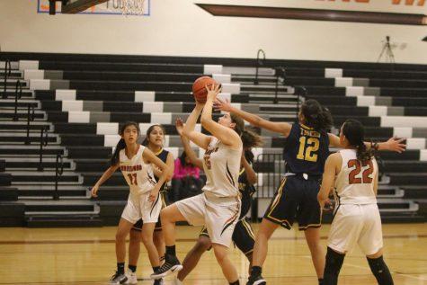 JV Girls' Basketball Takes Down Stony Point 49-32