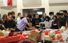 IB Students Gather for Thanksgiving Celebration