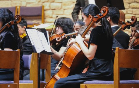 Orchestra Students Encapsulate Winter in Concert
