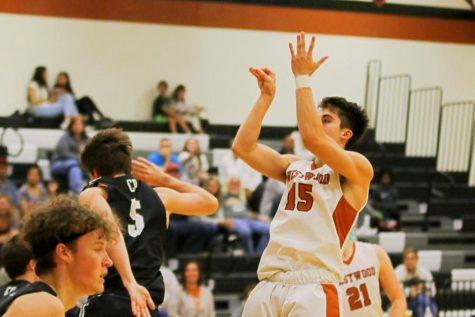 Varsity Boys' Basketball Falls Short to Cedar Park 64-57