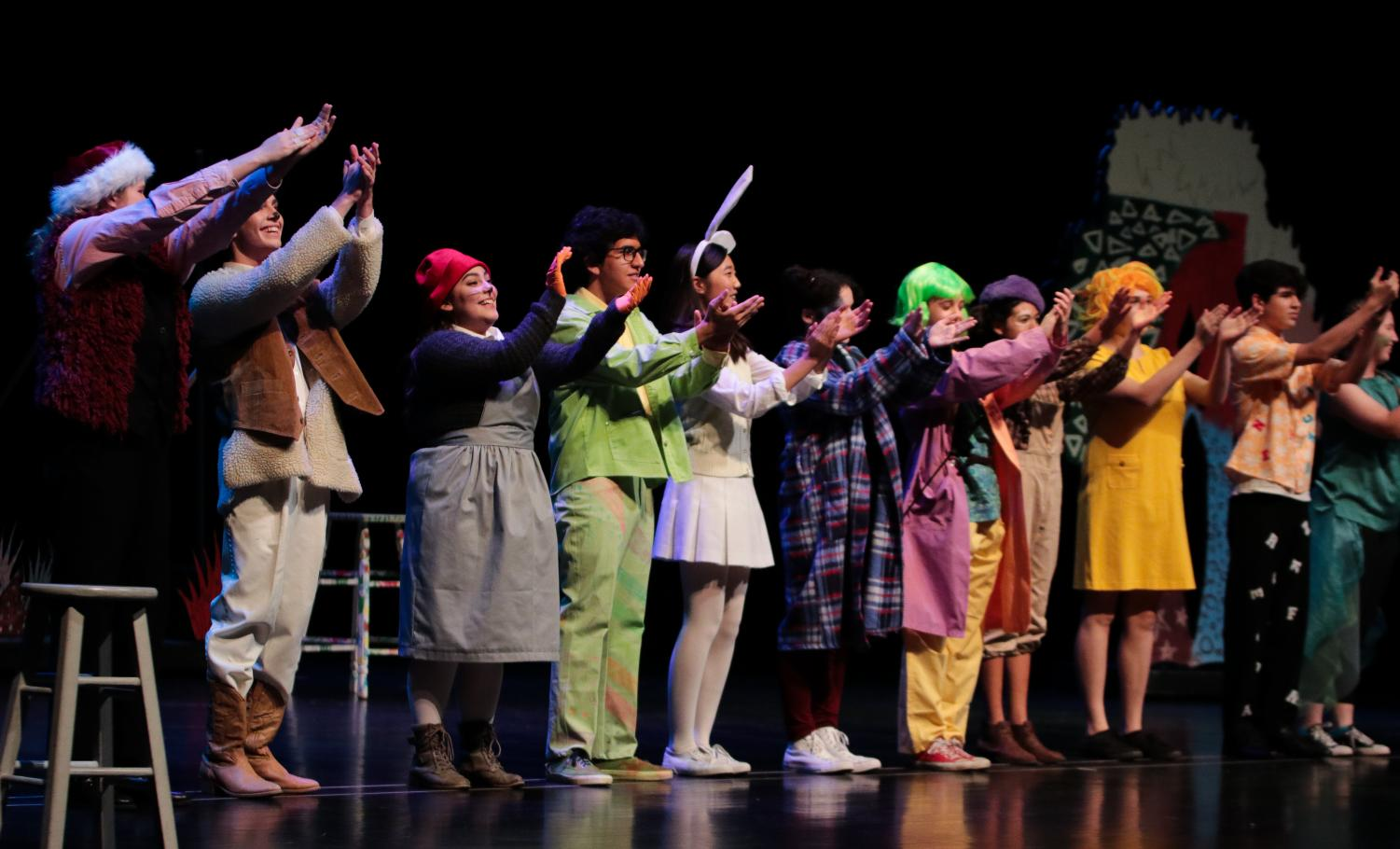 Theater+Students+Artfully+Portray+The+Coloring+Book