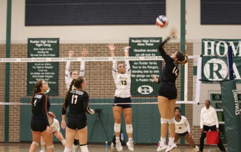 Varsity Volleyball Slips Under Cypress Ranch in Playoff Match