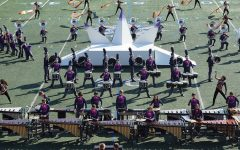 Band Competes in UIL Area D Marching Contest