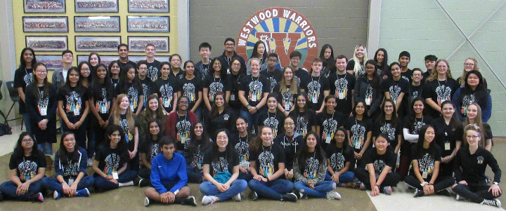 Academy Ambassadors Participate In Eighth Grade Day