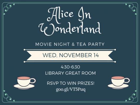 Librarians Host 'Alice in Wonderland' Movie Night