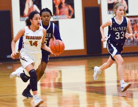 JV Girls' Basketball Take Down McNeil 56-24