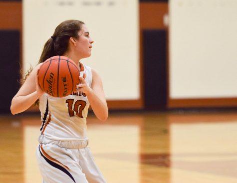 JV Girls' Basketball Concedes to Vista Ridge 41-40