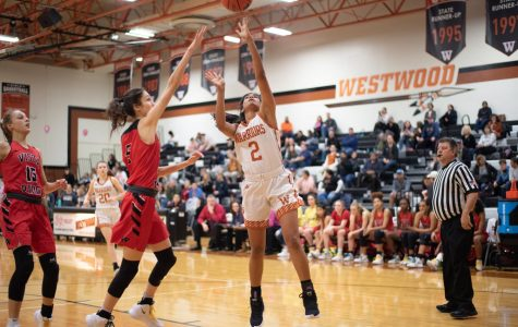 Varsity Girls' Basketball Falls Against Vista Ridge 56-48