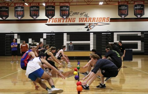Students and Teachers Face Off at Dodgeball Fundraiser