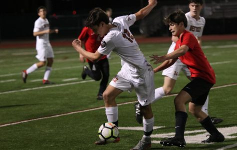 Varsity Boys Soccer Bounces Back With 2-1 Win vs. Vista Ridge