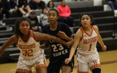 Varsity Girls' Basketball Defeated by Hendrickson Hawks 74-50