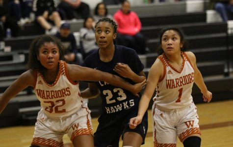 Varsity Girls' Basketball Defeated by Hendrickson Hawks 74-50