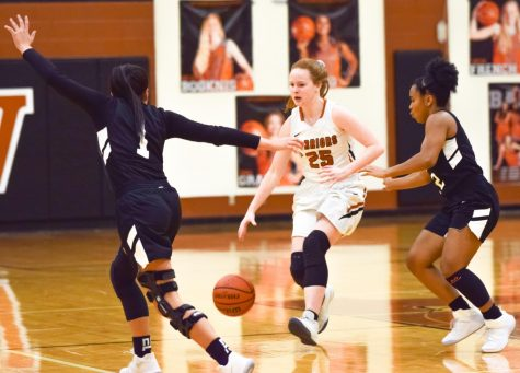 JV Girls' Basketball Falls to Cedar Ridge 46-40