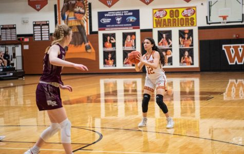 Varsity Girls' Basketball Slain By Dragons 46-45