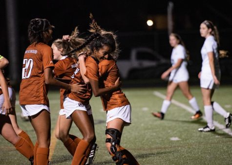 Varsity Girls' Soccer Victorious in 2-0 Win Against Sister School