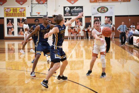 Varsity Boys' Basketball Falls to Stony Point 55-54