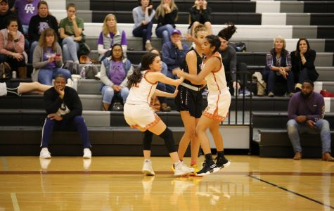 Varsity Girls' Basketball Knocks Down Cedar Ridge 58-42
