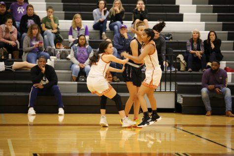 Varsity Girls' Basketball Knocks Down Cedar Ridge 58-42
