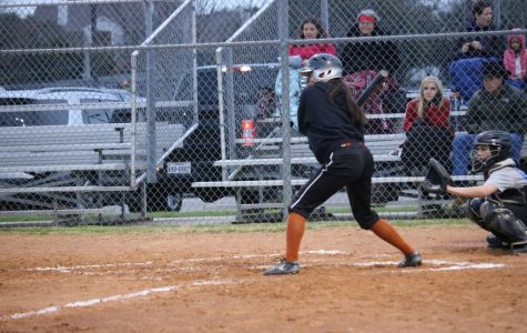 JV Girls' Softball Slips Against Eagles 15-0