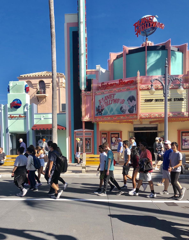 Students+explore+Disney%27s+Hollywood+Studios.