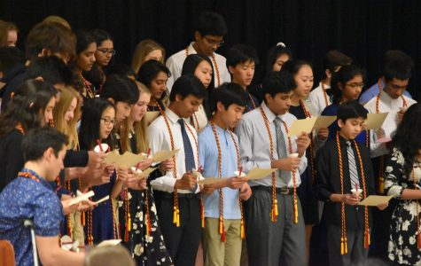 NSHS Inducts New Members Into Organization
